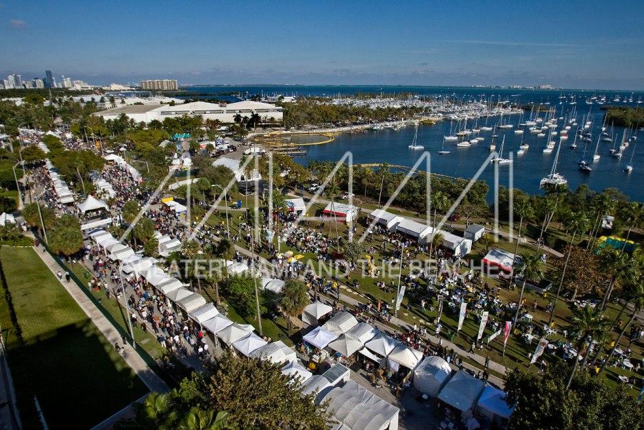 Coconut Grove Arts Festival aerial