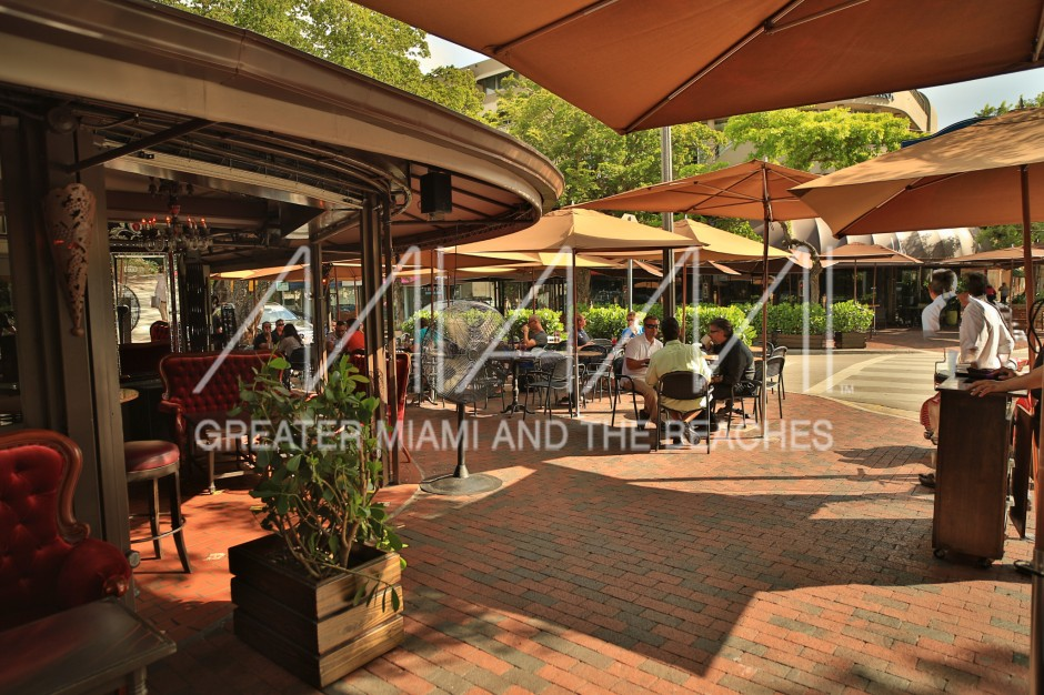 Greenstreet Cafe outdoor seating