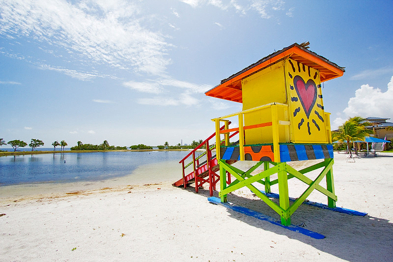 Homestead Bayfront National Park lifeguard stand.jpg